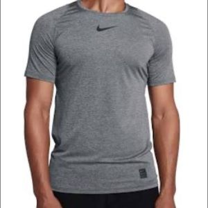 Nike Pro Dri-Fit Grey Fitted Shirt